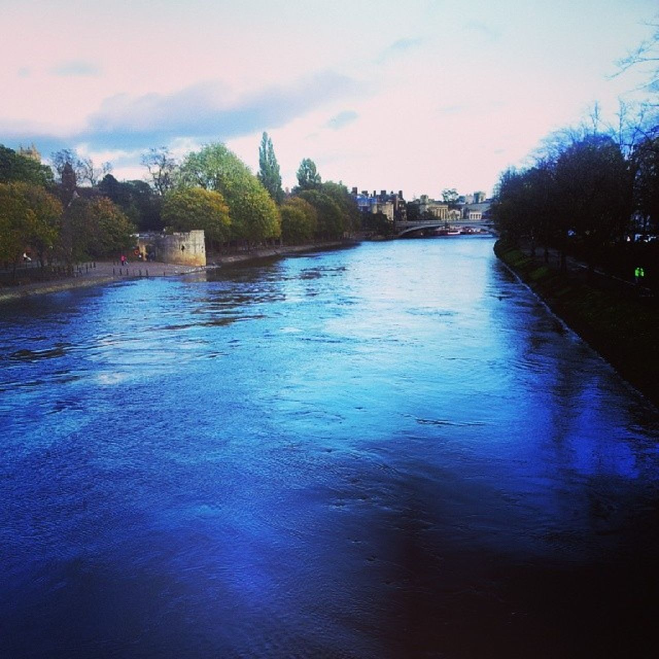 Looking downstream on River Ouse