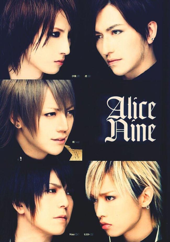 Alice nine Jrock Nao  Hiroto Saga Shou Tora Alicenine