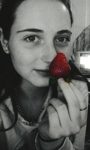 love strawberry First Eyeem Photo