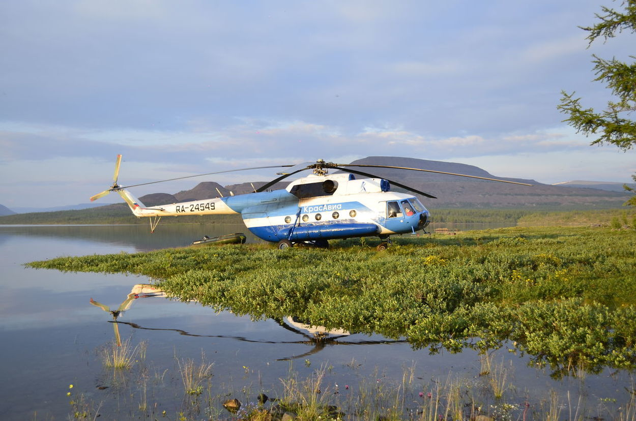 Mi-8T Transportation Mode Of Transport Water Sky Plant Cloud - Sky Non-urban Scene Nature Day Tranquil Scene Outdoors Waterfront Scenics Growth Tranquility Mountain No People Cloudy Beauty In Nature Green Color Krasnodarskiykray Turistic Sebyaki