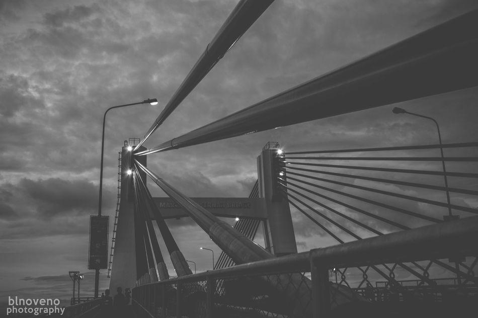 Lines. Check This Out Taking Photos EyeEm Best Shots Photooftheday Photography Nikonphotography Philippines Cebu Nikon D3200 Nikon Bnw Blackandwhitephotography Blackandwhite Mactanbridge Bridge Architecture First Eyeem Photo The Architect - 2016 EyeEm Awards
