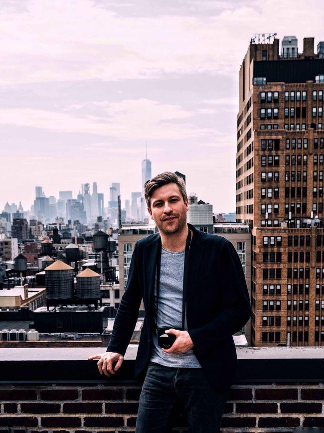 Portrait Rooftop Eyeem Studio New York Manhattan Skyline
