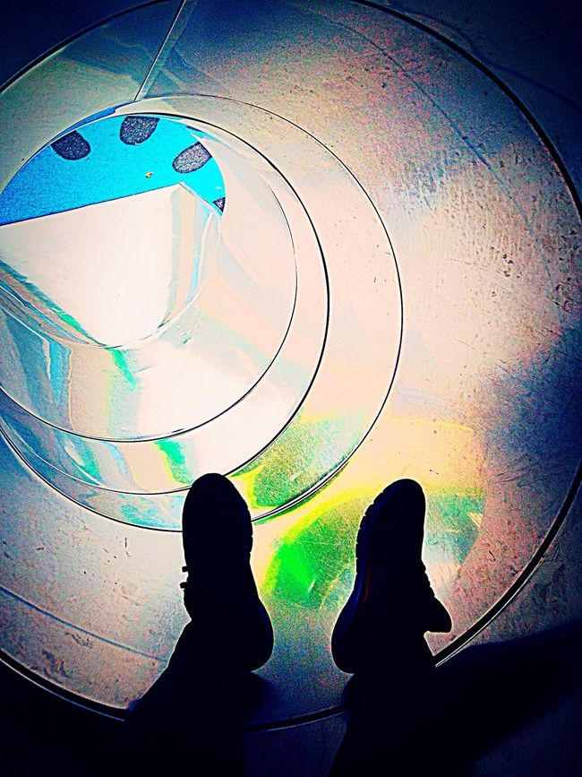 The hole to where Low Section Person Shoe Personal Perspective Journey UFO Alien Space Dream Out Of Body Experience Intergalactic  Galaxy