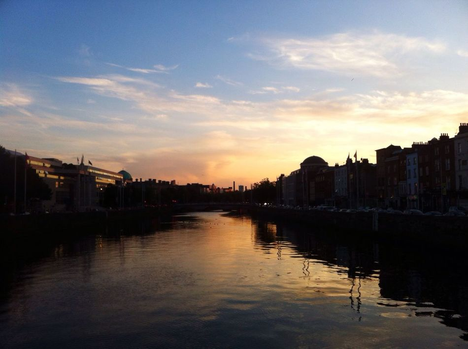 The Tourist Mission Dublin Best City In The World In Love Sunset in love with My sunsets