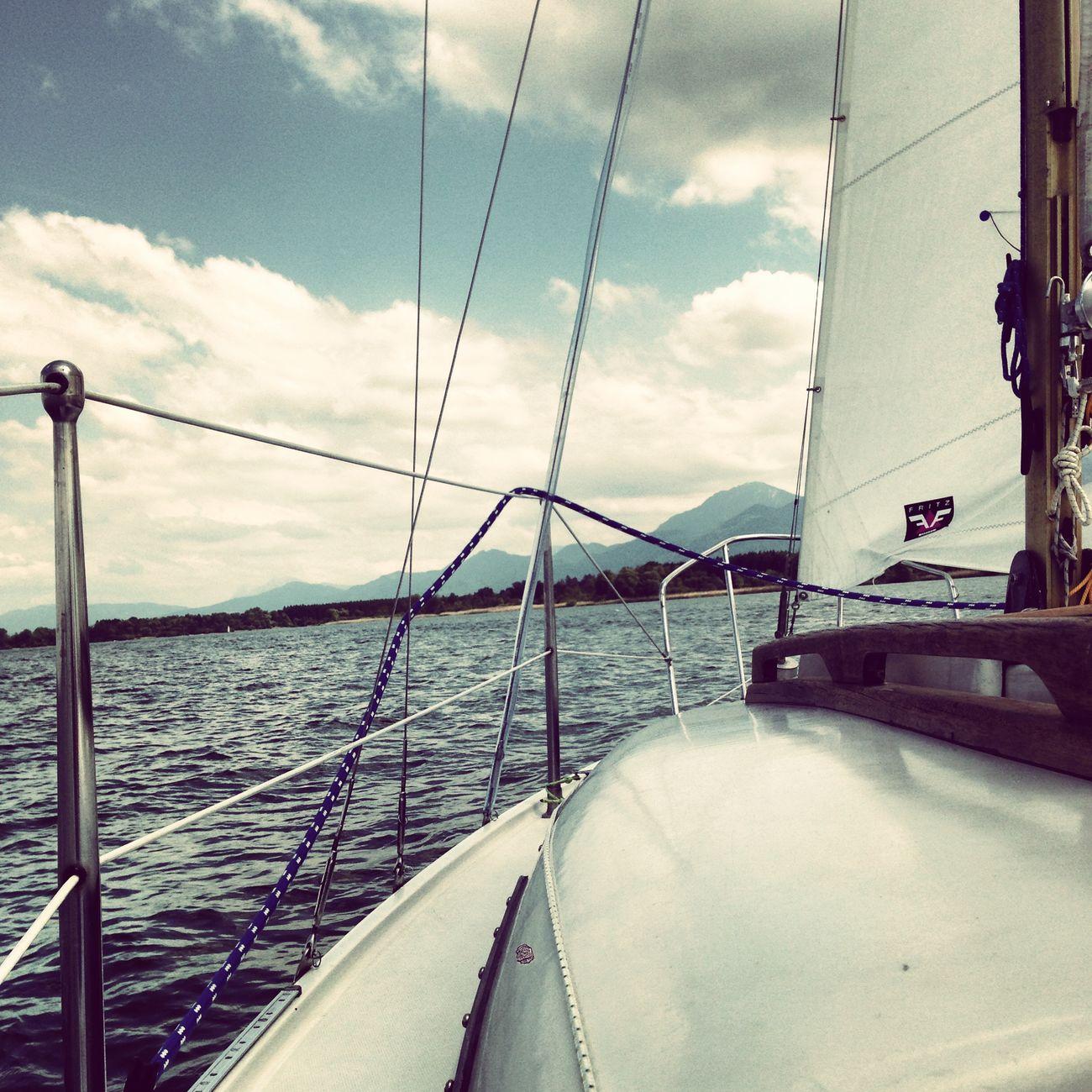 Chiemsee Going Sailing Sailing Bavaria