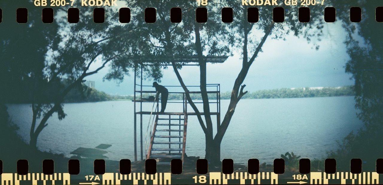 Sprocket Rocket Panorama Kodak200 Film Singapore Quarry 35mm