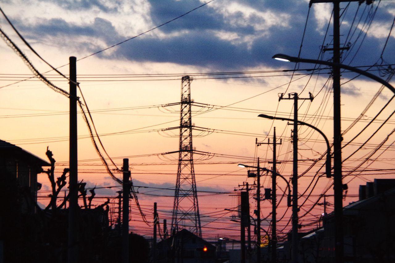 おつかれさま。 Afterglow Twilight Sunset Pentax K-3 おつかれさま 夕暮れ時