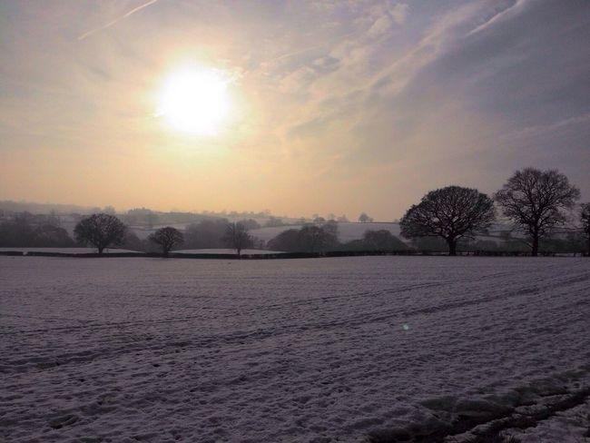 Winter fields Derbyshire Winter Winter Sky Nature EyeEm Nature Lover