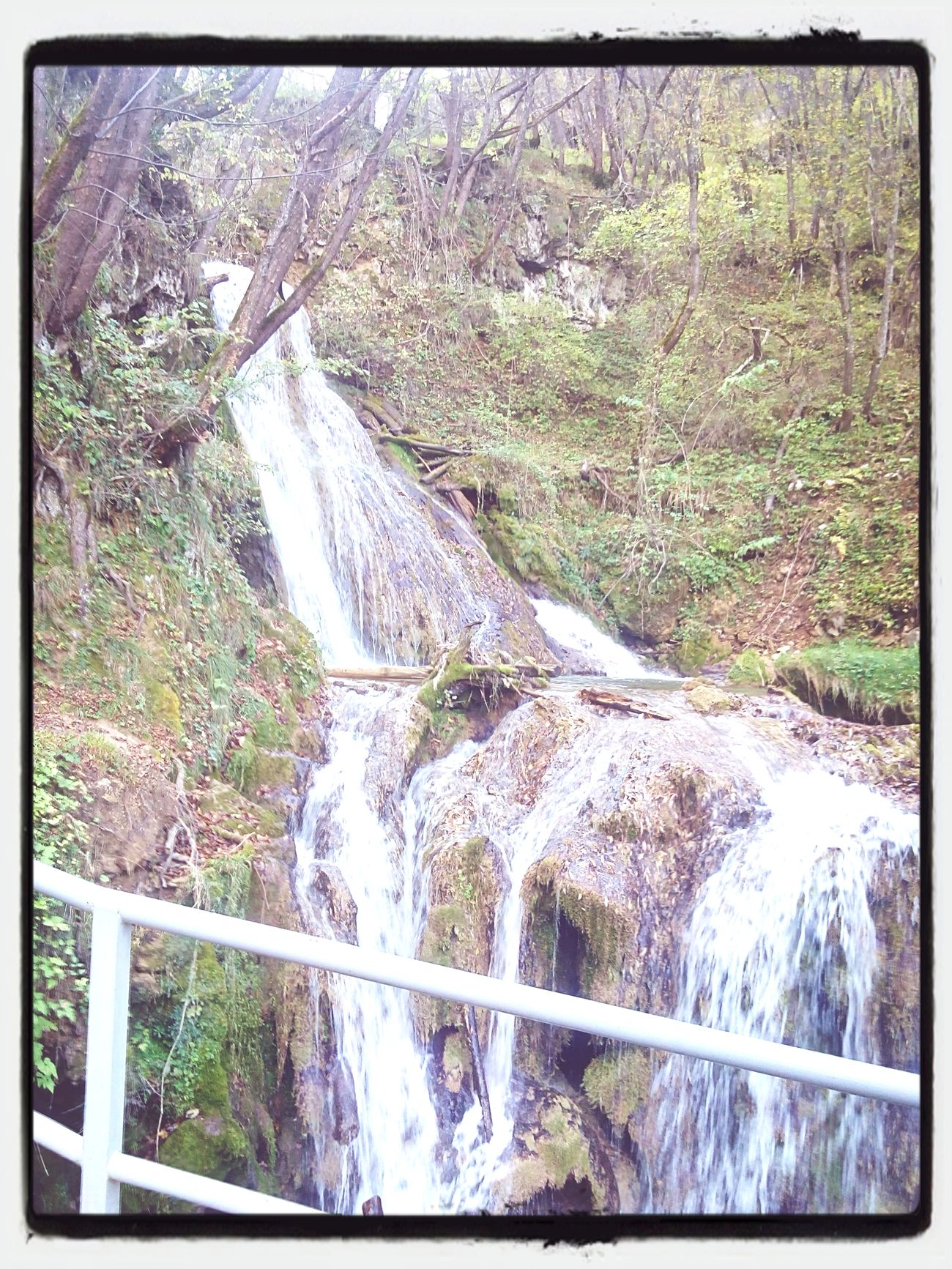 Uzice Waterfall Traveling Nature