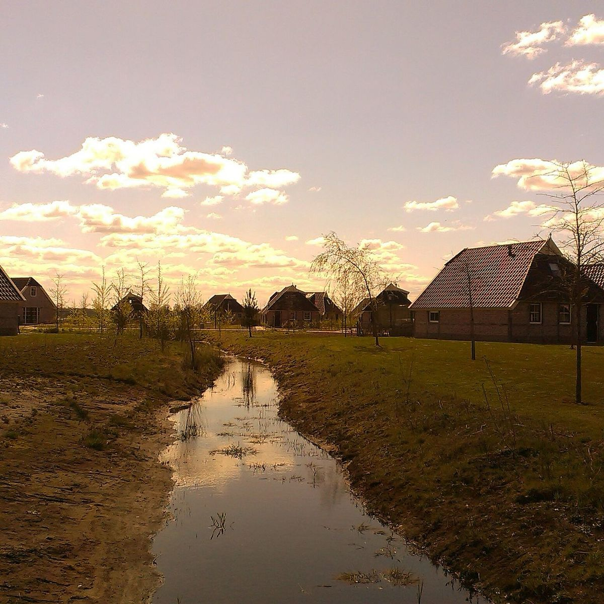 A weekend's view - Dutch Skies Weekend Getaway Sky And Clouds Water Reflections