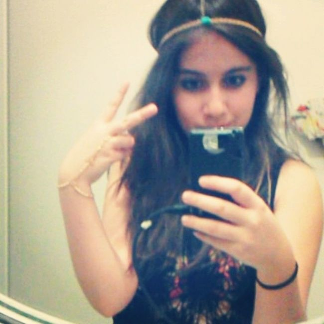 "Finally took a ""normal"" selfie(: Neondesert"