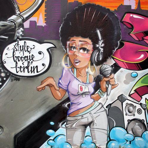 4 Elements Character Super Bad Boys Stereoheat Graffiti Streetart