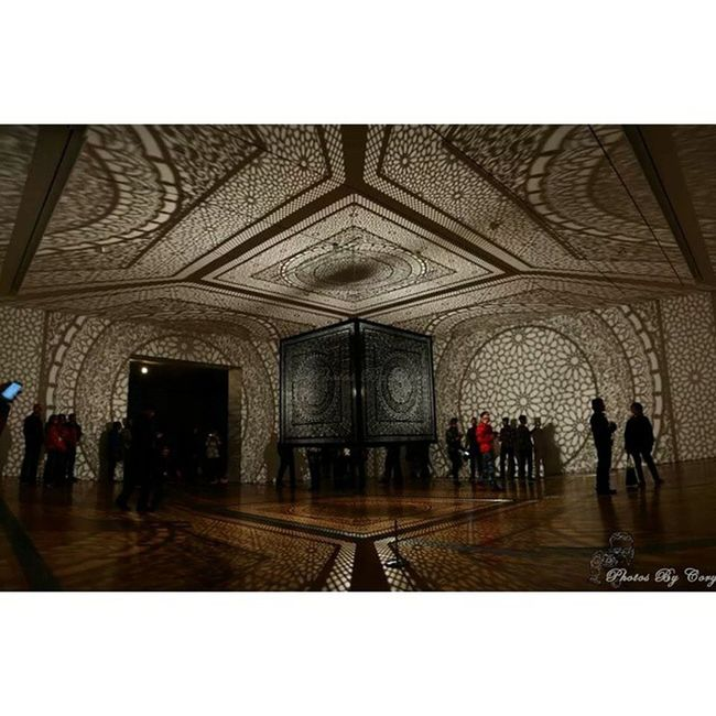 """""""Intersections"""" Art installation at the GRAM for Artprize2014"""