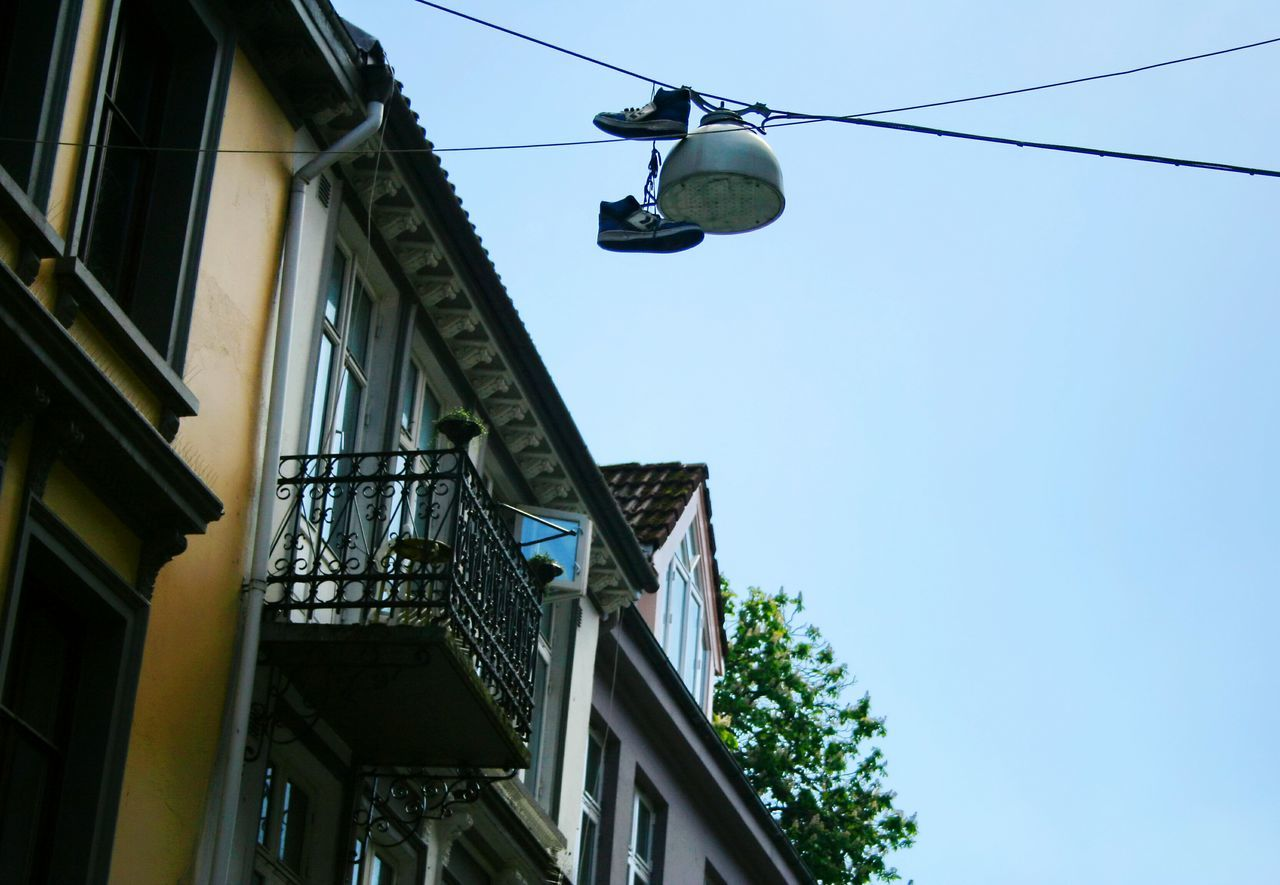 Sky shoes... Hanging Out Norway Streetphotography Street Photography Shoes Architecture Bergen,Norway Old Shoes