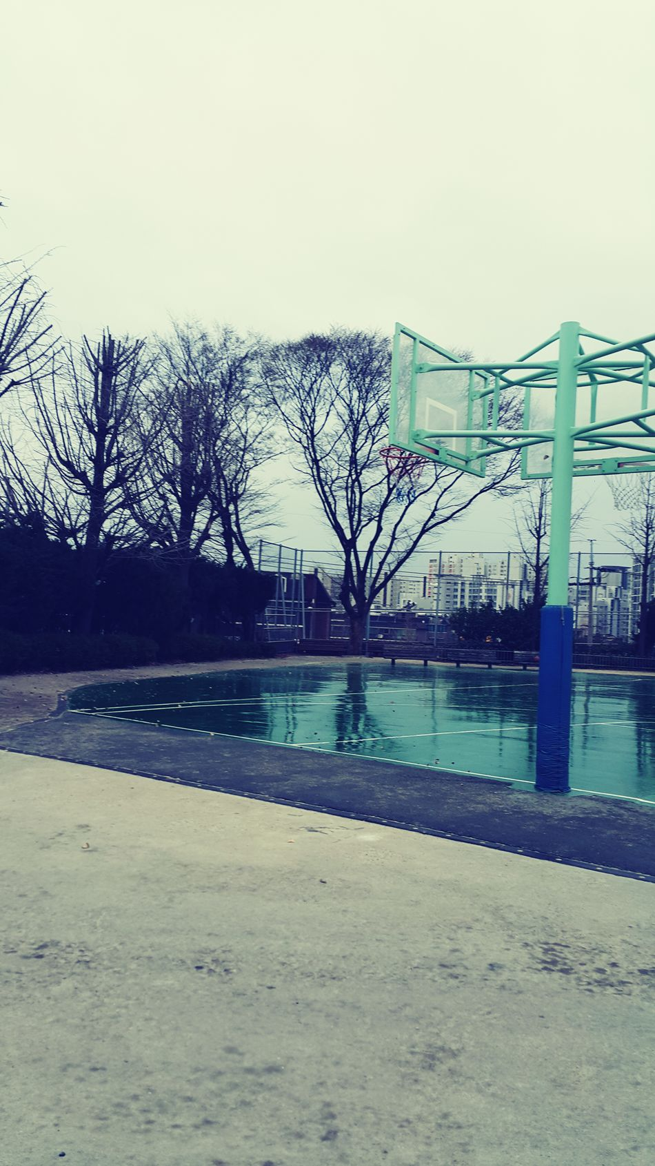 Yunhi Middle School Basketball Court