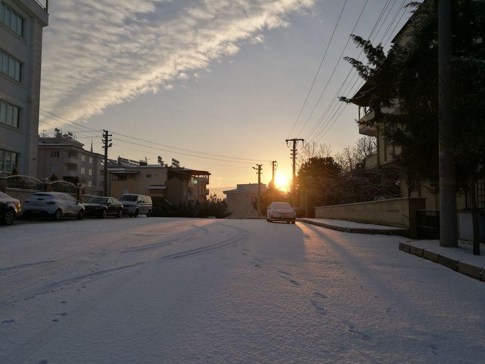 Sunrise Snow ❄