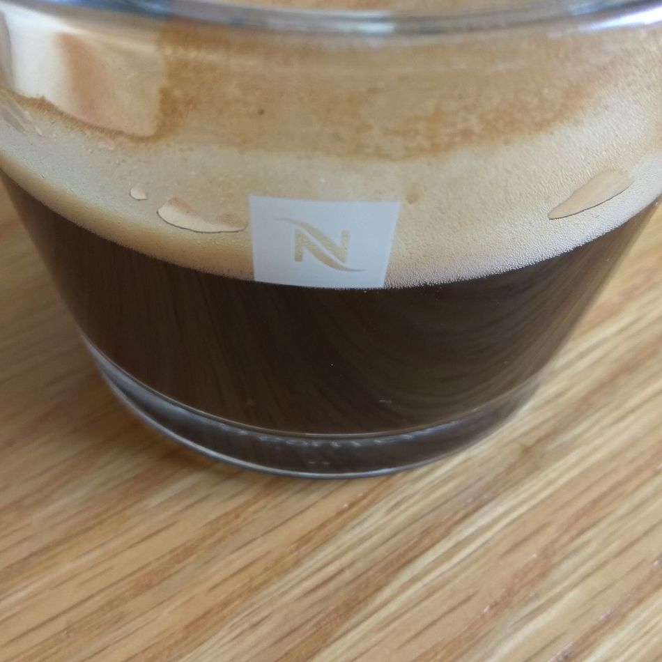 Close-up Food And Drink Brown Day Drink No People Freshness Coffee Espressotime Cape Town, South Africa Coffeeaddict Coffee Cup Nespresso Nespressomoments Nespresso... What Else…? Intense Dark No Sugar No Milk