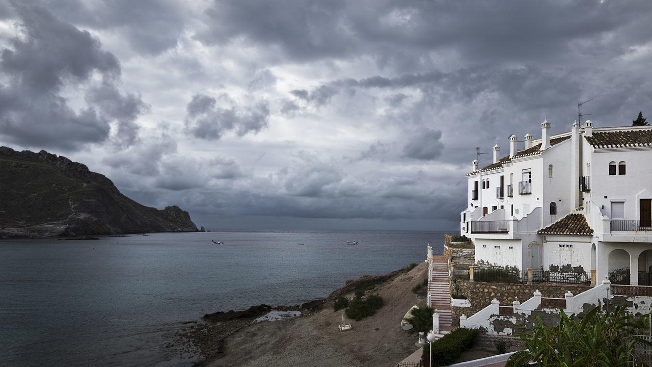 https://open.spotify.com/track/1ryWtaJ3NKtlfJyKvbEB8z Architecture Beach Building Exterior Calabardina Cloud - Sky Murcia Napatu Scenics Sea Sky Storm Cloud Travel Destinations Vacations