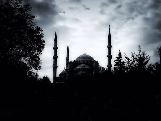 Blue Mosque by Fabiana Abud