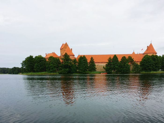 Oldtown Tower Trakai Castle Cill
