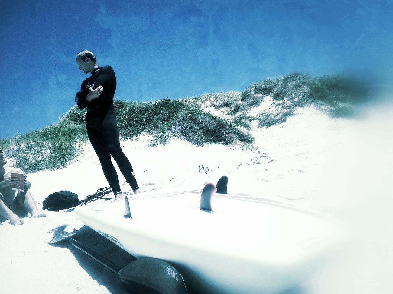 Surfin' Cape Town Africa
