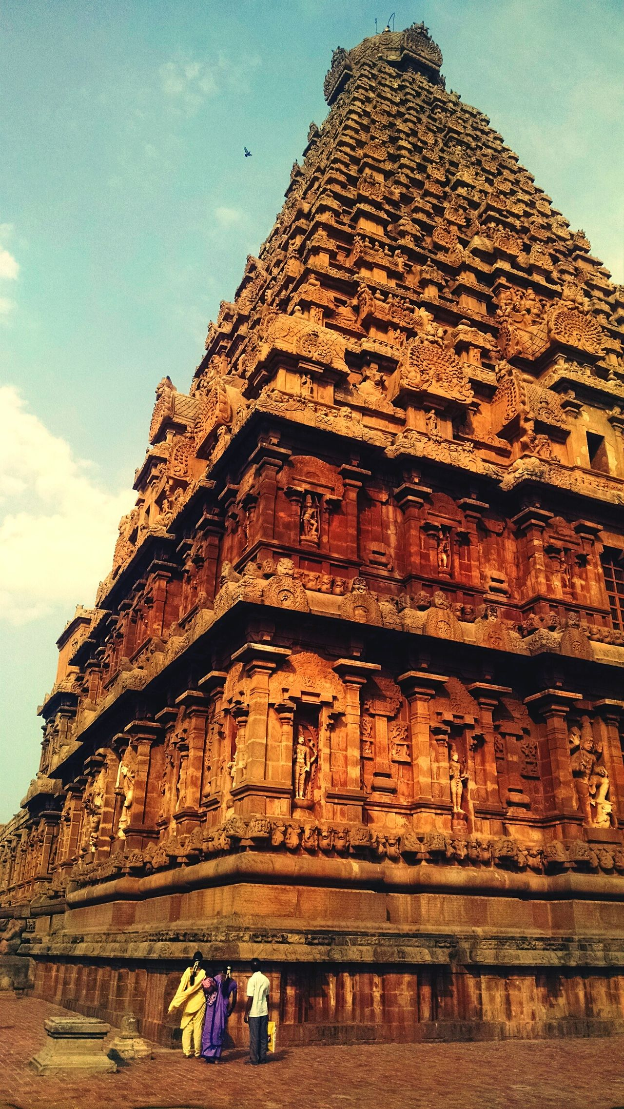 Architecture Travel Destinations Ancient Ancient Civilization History Old Ruin Built Structure Tourism Religion Archaeology Travel Building Exterior The Past Monument Ancient History Outdoors Vacations Tamilnadu Big Temple India Tanjore Travel