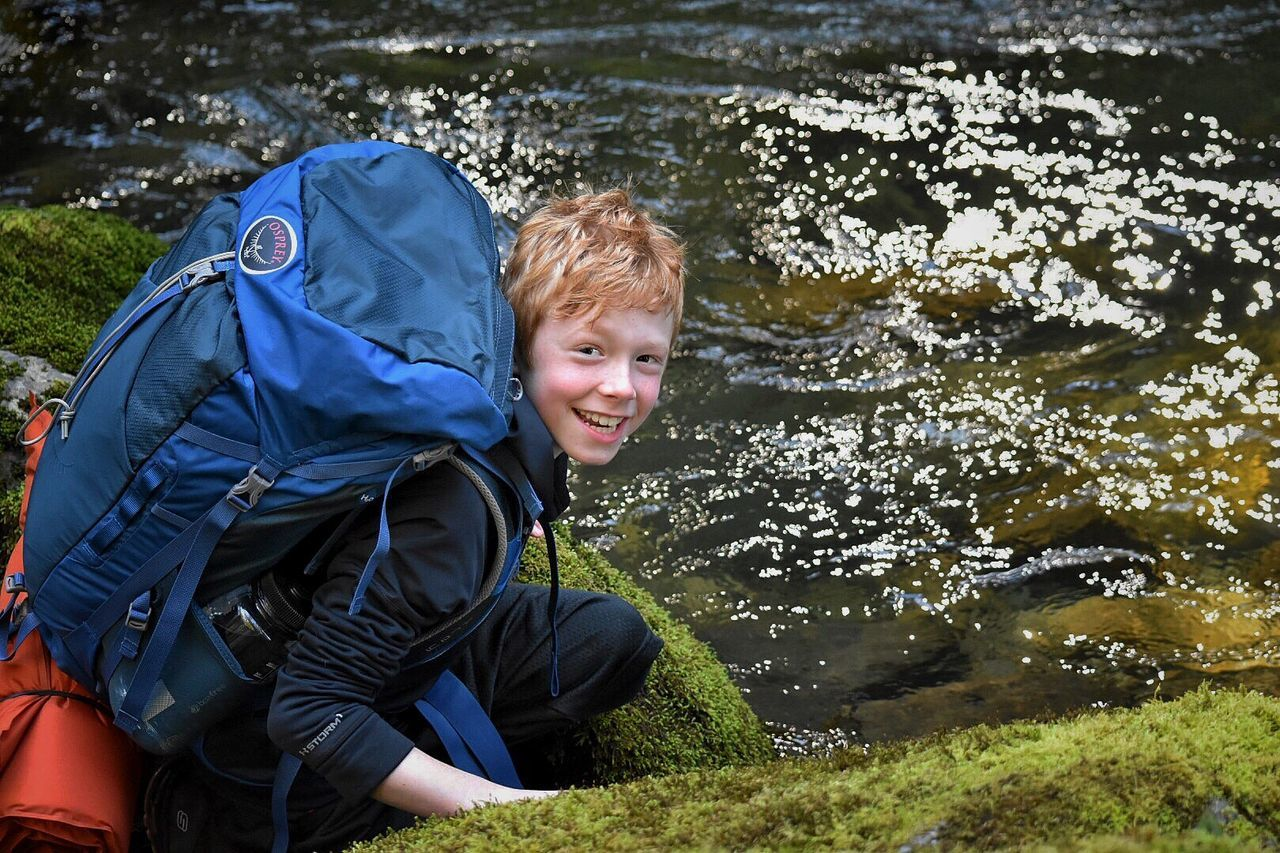 Child Smiling Boys Childhood Children Only Happiness Portrait One Boy Only Blond Hair Males  Looking At Camera People River Adventure Elementary Age Outdoors One Person The Portraitist - 2017 EyeEm Awards Vacations Water Hikingadventures Outdoor Pursuit Weekend Activities Fun Vacations