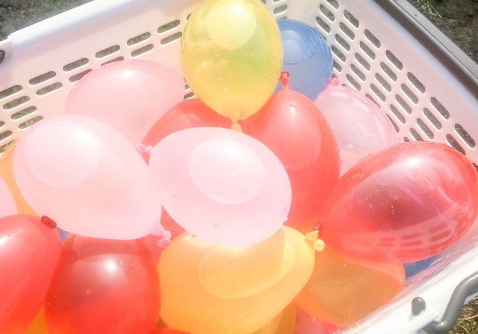 Summer Waterballoon Balloons Colors