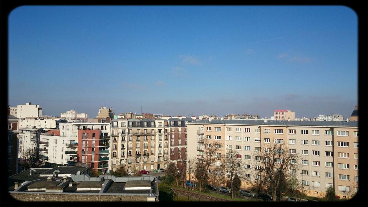 Haze Weather Air Pollution Par La Fenetre Paris ❤