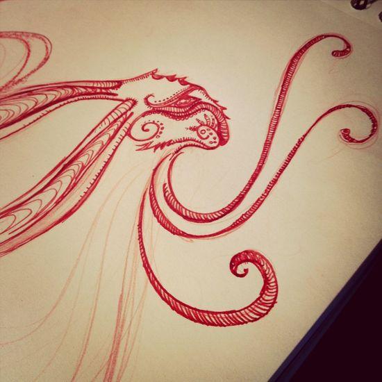 Ceci n'être autre qu'un lièvre, et non un lapin. Drawing Draw Graphic Art
