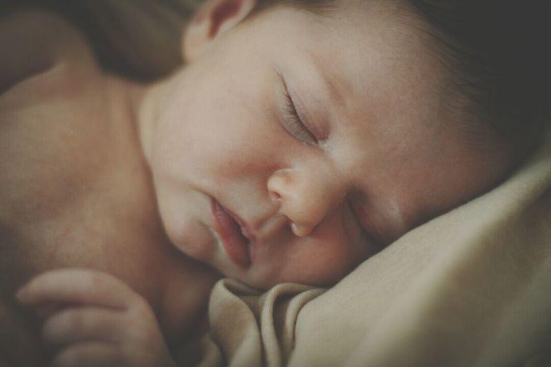 Child Childhood Sleeping