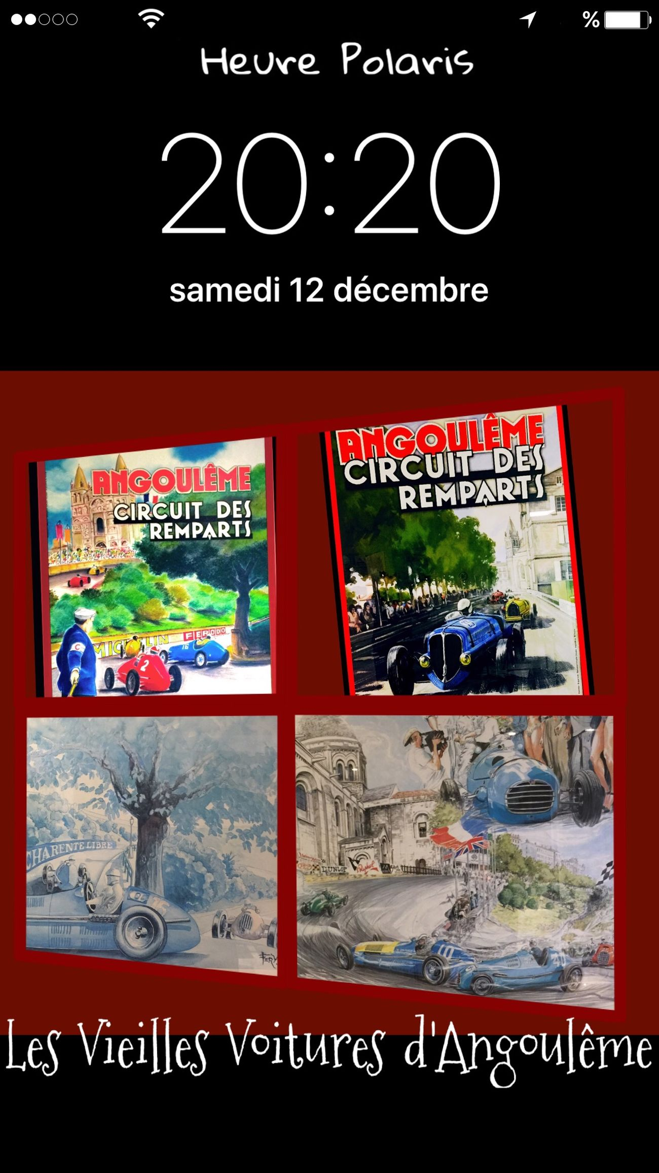 20H20 Les Vieilles Voitures d'Angoulême HEURE POLARIS Vieillevoiture Vieille Voiture Automobile Lithography Lithographie Circuit Des Remparts Angouleme Old Car Old Cars Old Cars Exposition Voitures Anciennes Voiture