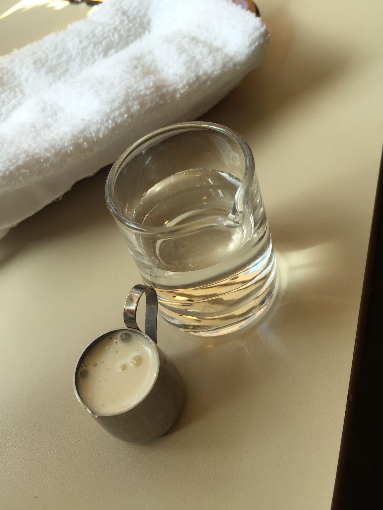 ミルクとシロップ