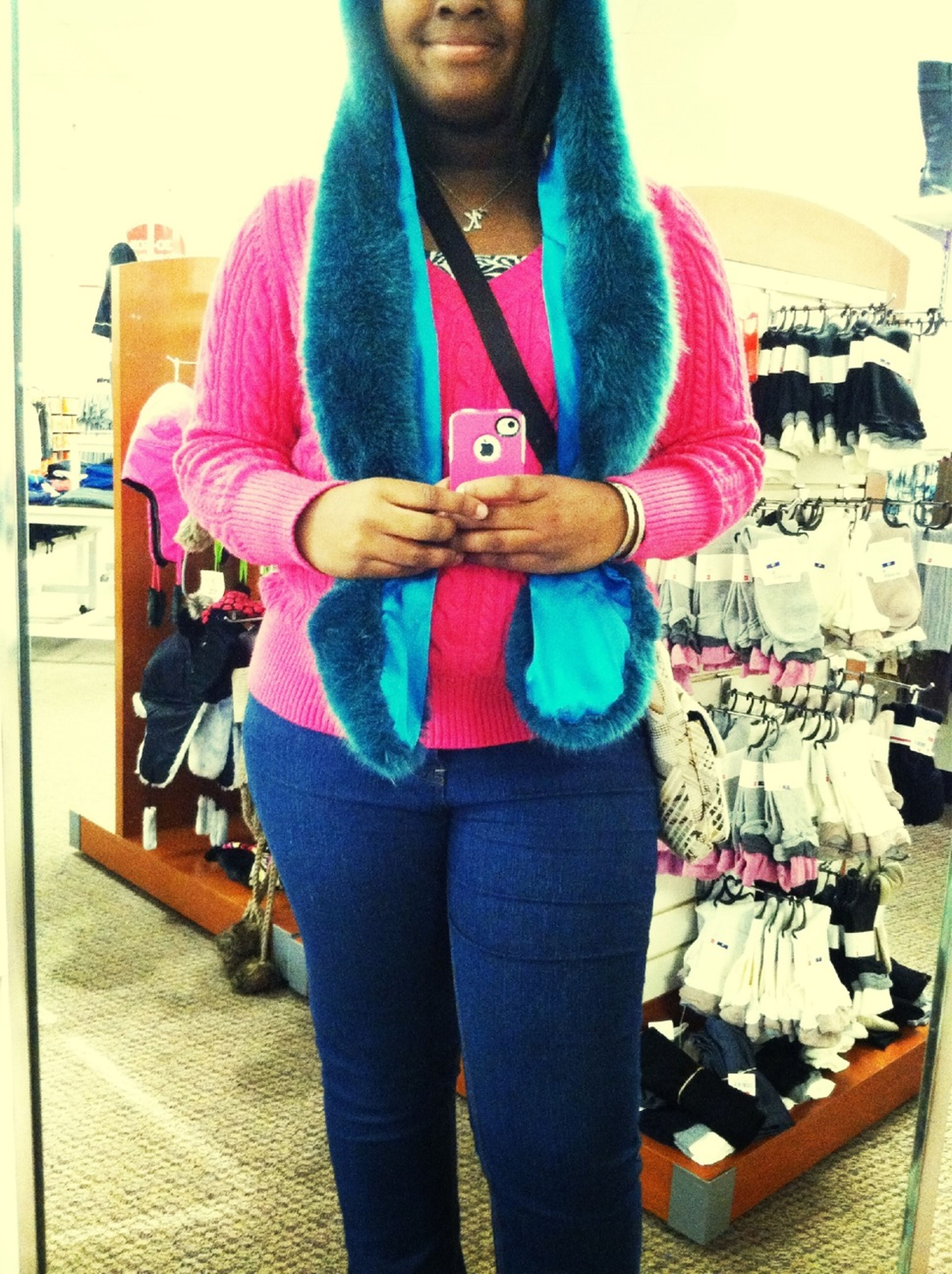 Chilling in the mall ! ☺