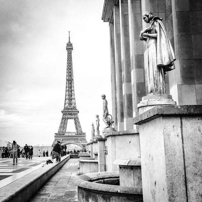 Tour Eiffel Paris Eiffel Tower Blackandwhite Photography Eyem Best Shot - Architecture Architecture Eiffeltower Being A Tourist Historical Sights