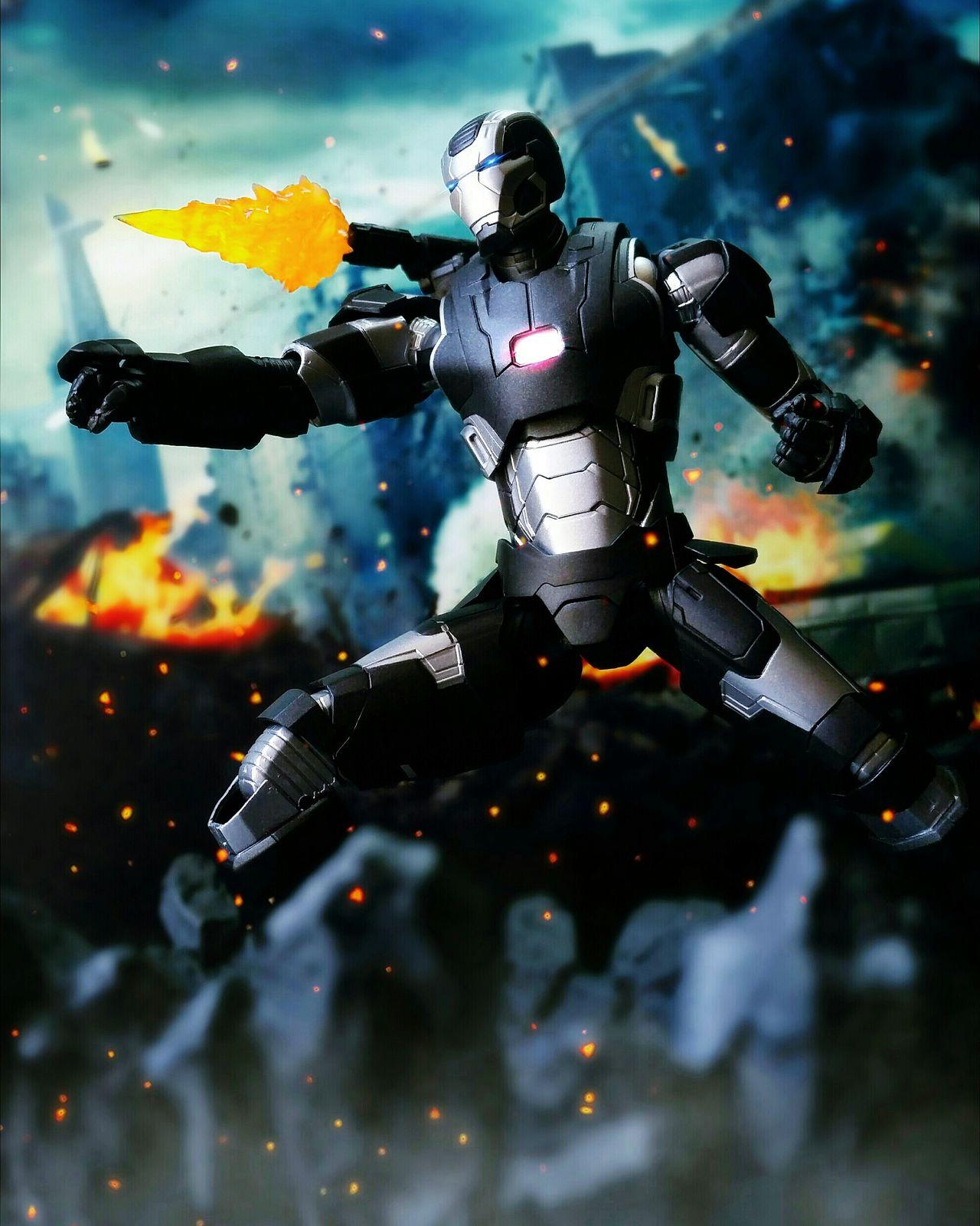 War Machine Mark 2 Toy Photography Tamashiinations Action Figures BANDAI Age Of Ultron Marvel Sh Figuarts Shf War Machine