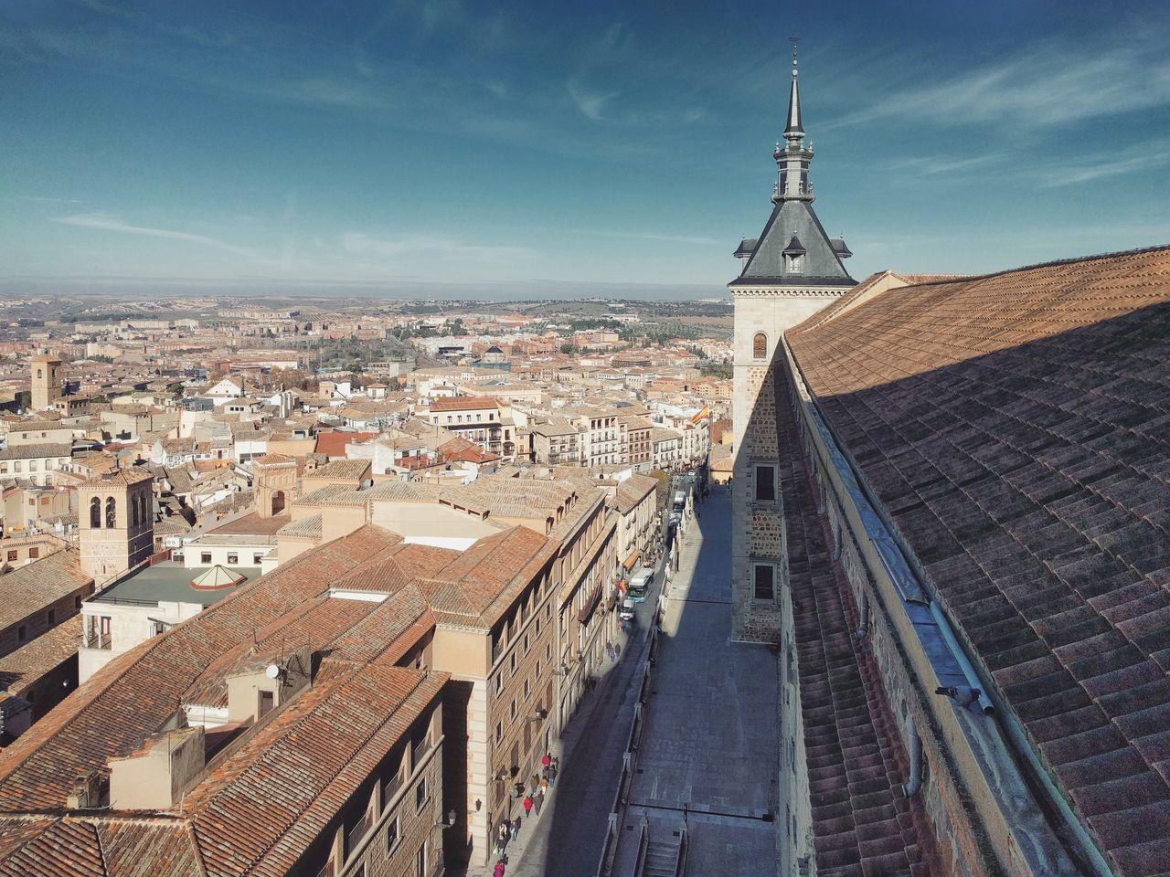 Alcázar de Toledo ⏺️ Alcazar of Toledo Toledo España SPAIN Castilla La Mancha City Ciudad Alcazar Architecture Cityscape Urban Skyline Sky Picoftheday
