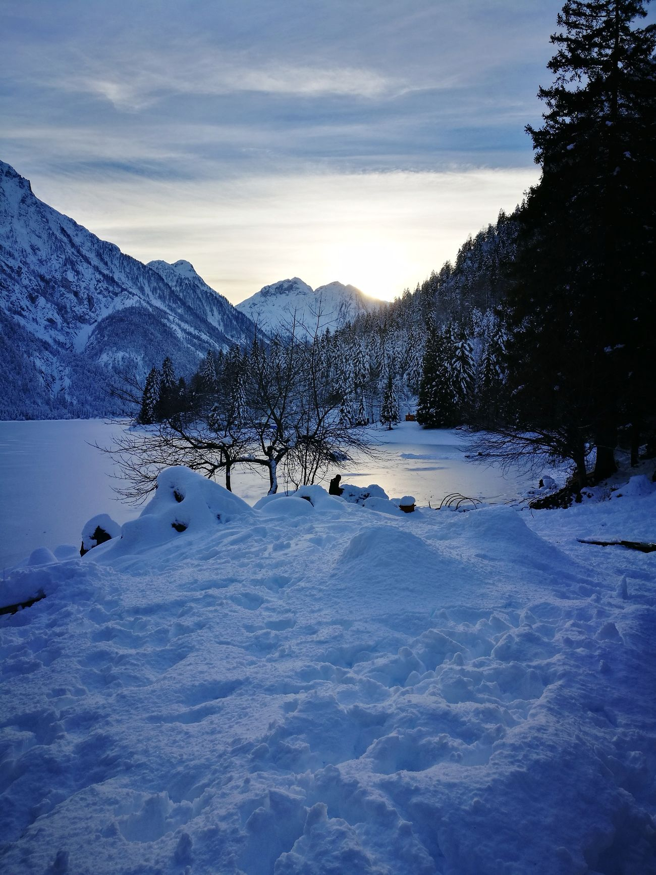 Snow Mountain Cold Temperature Winter Landscape Nature Beauty In Nature