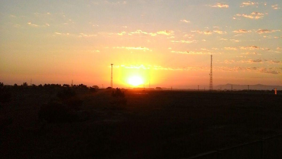 Pôr do Sol em Xangrilá Sem Filtro.