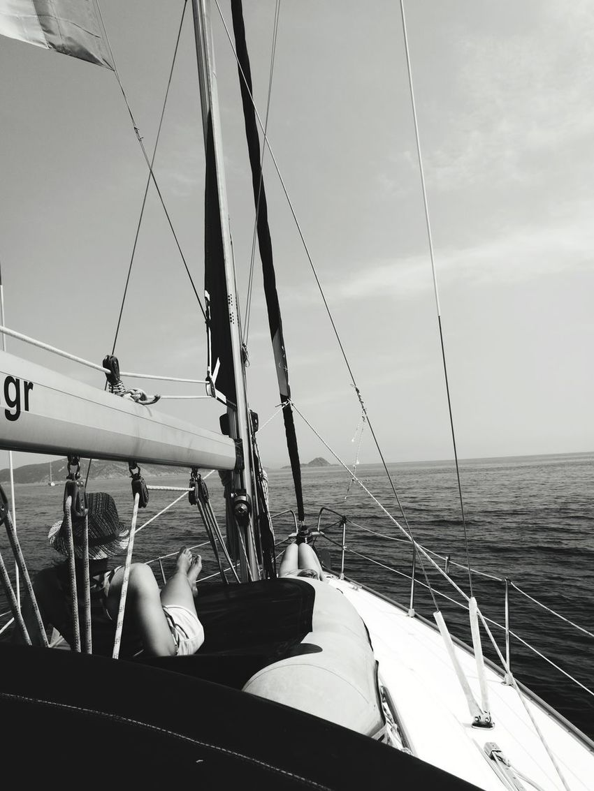 Nautical Vessel Sea Water Transportation Outdoors Sailboat Day Boat Deck Yacht Sailing Horizon Over Water Poros Gorge Sailing Ship GREECE ♥♥ Poros Travel Destinations Greece Islands Greece Island Sea Let's Go. Together.