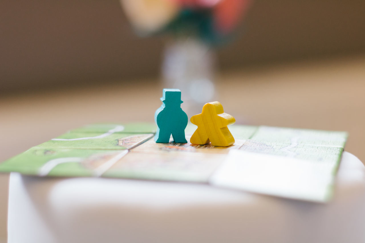 Background Blue Board Games Bokeh Cake Charachters Colourful Geek Geek Love His And Hers Love Meeples Minimal No People Perfect Relationship Selective Focus Table Wedding Wedding Cake Wedding Card Yellow