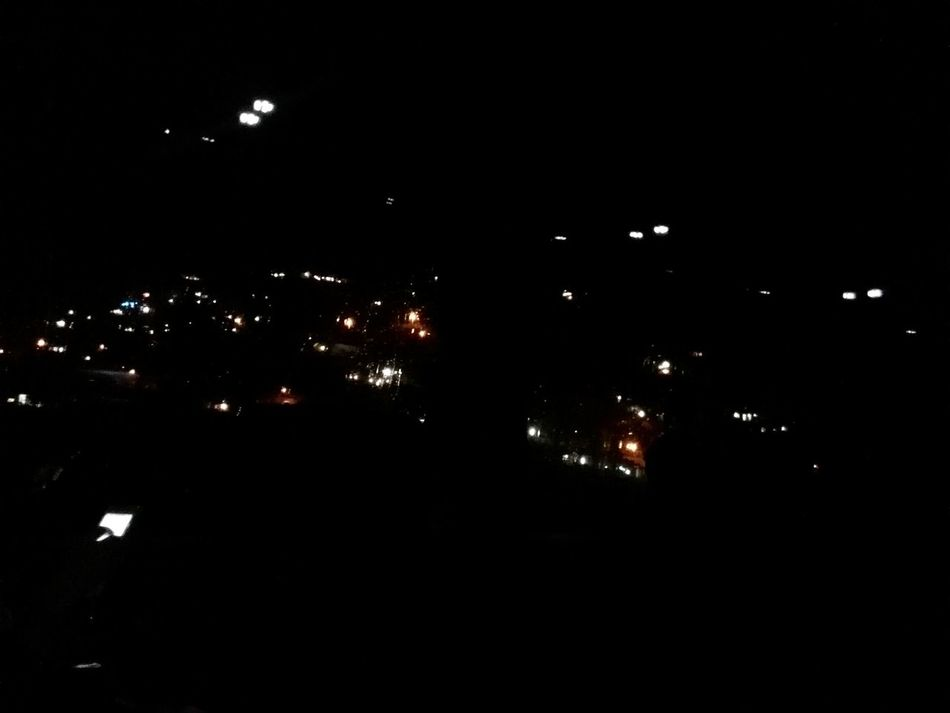 A vilage at night North Of Iran Road Trip Vilage House Night Lights IRAN ; Mazandaran