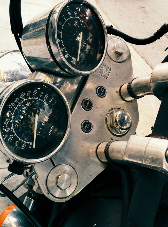 Motorcycle Metallic
