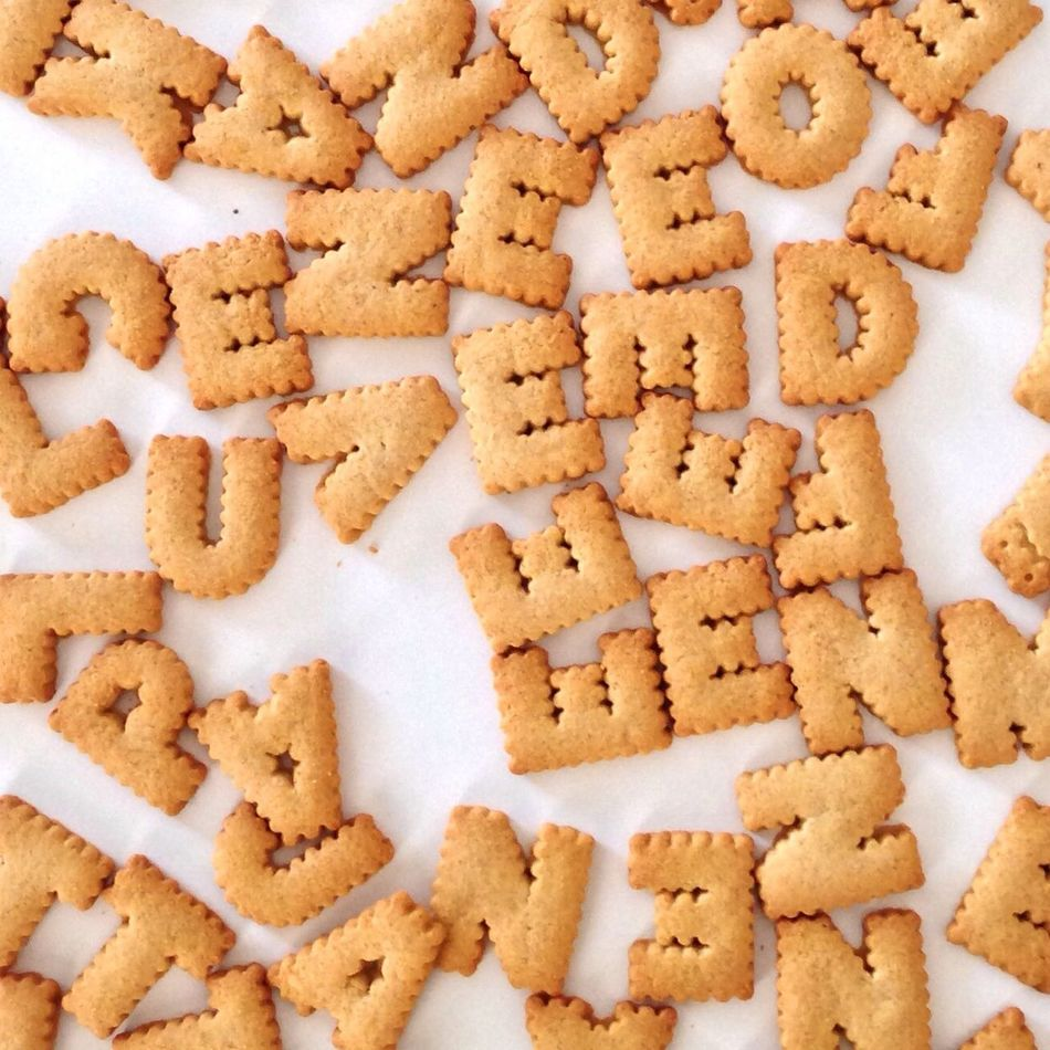 Beautiful stock photos of alphabet, Alphabet, Capital Letter, Communication, Cookie