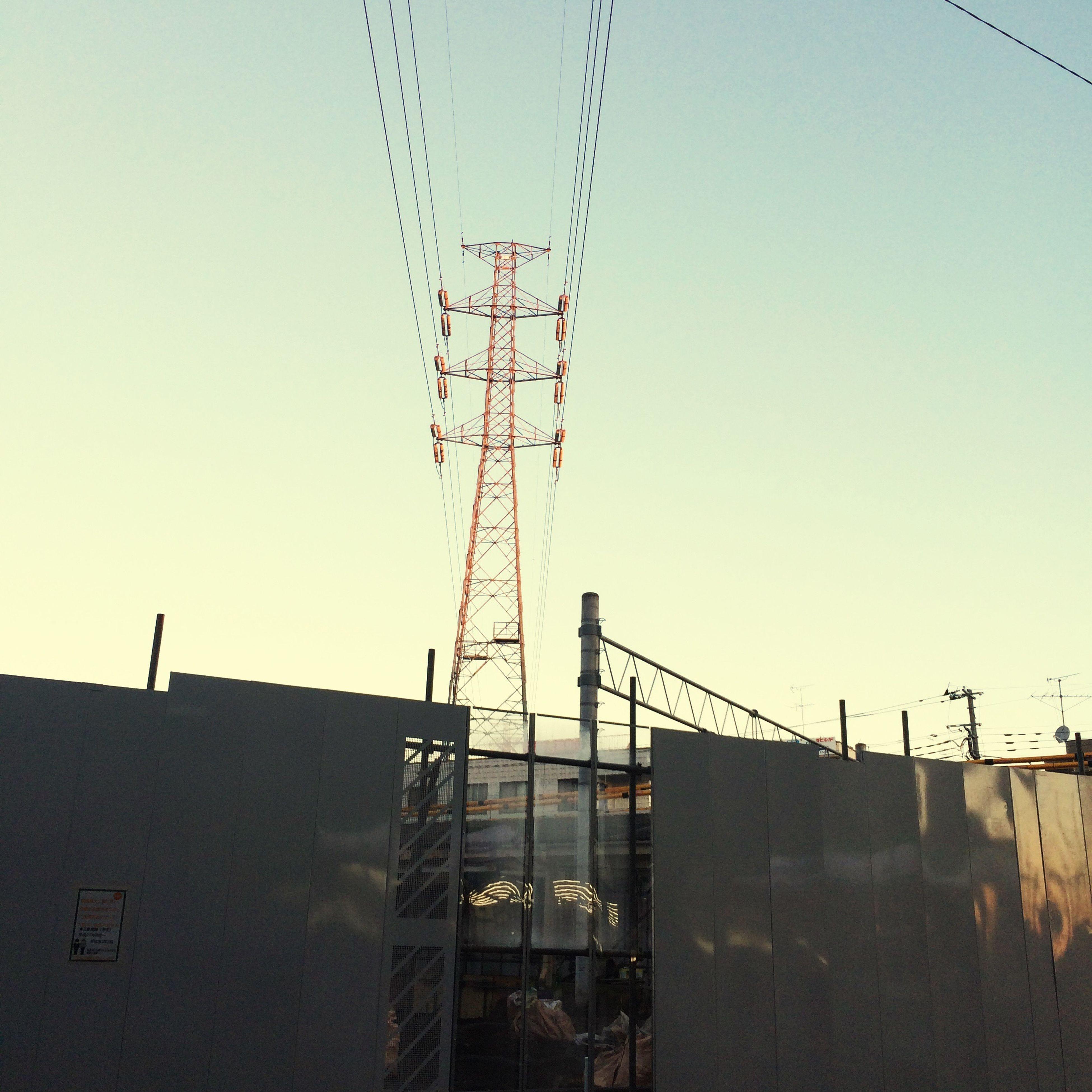 朝焼け Good Morning Akishima さむいよー