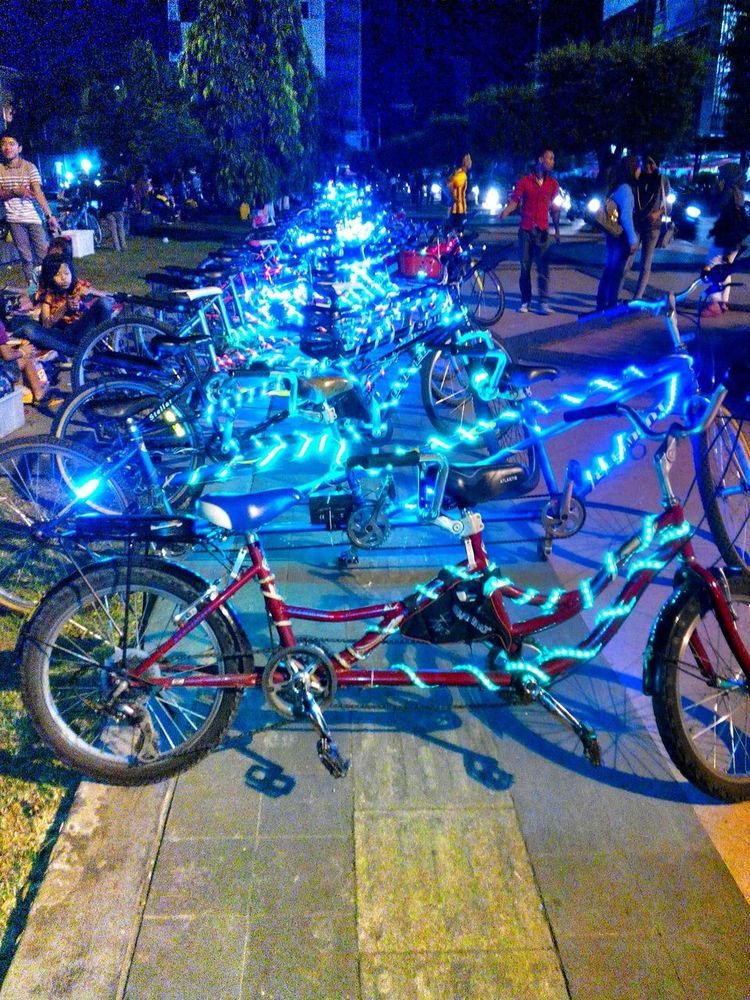 Bicycle Light Semarang Simpanglima
