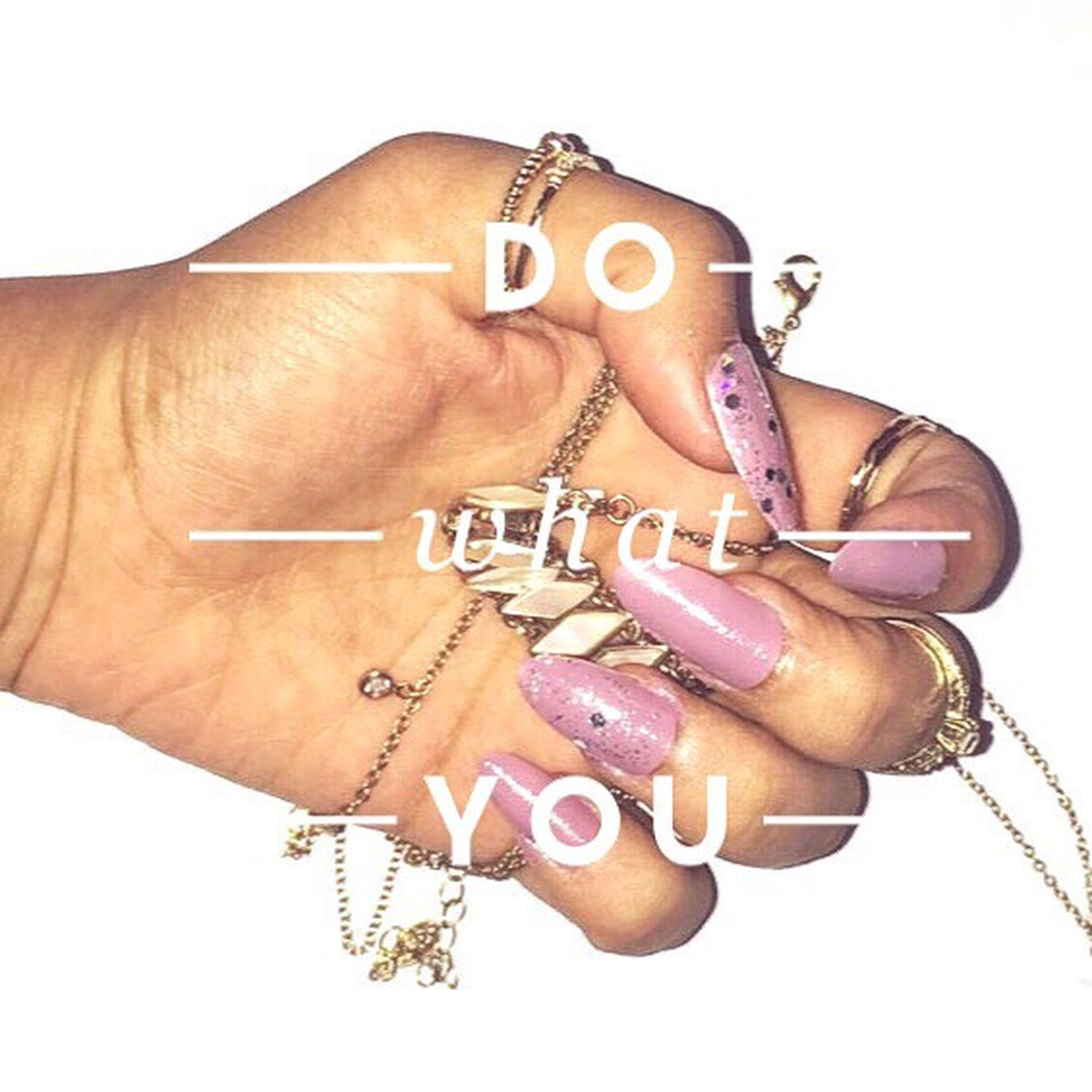 white background, studio shot, person, nail polish, holding, wristwatch, young adult, funky, fashionable, nail art