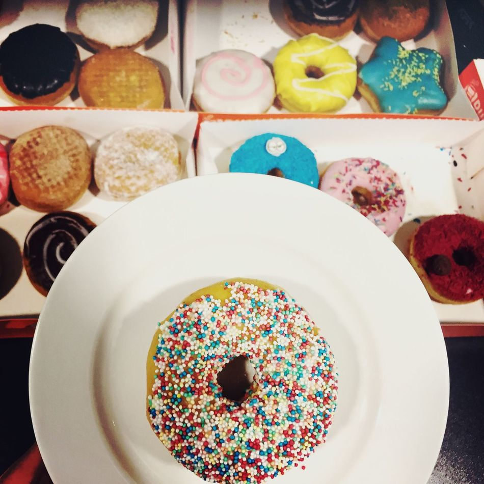 Donuts Sweet Candy Doughnuts Sprinkles Calories Food Foodporn