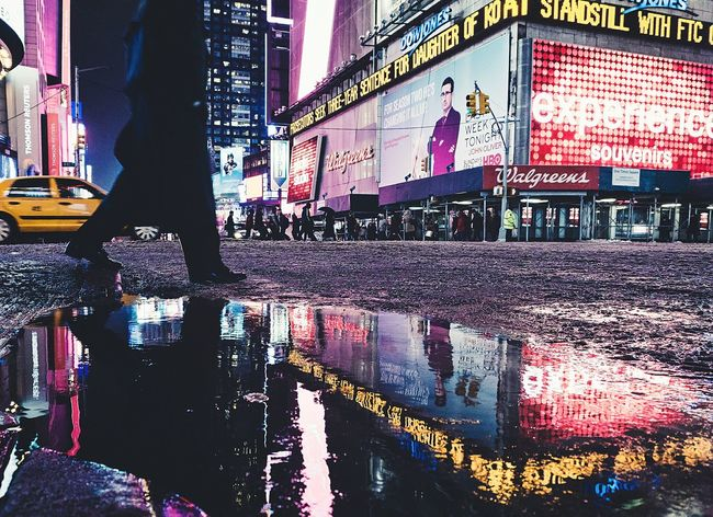 Capture The Moment Going The Distance Untold Stories Night Street Water Reflections Cityscapes Night View Urban Lifestyle Night Lights It's Cold Outside Gangsters Paradise All The Neon Lights Cities At Night The Street Photographer - 2016 EyeEm Awards Battle Of The Cities