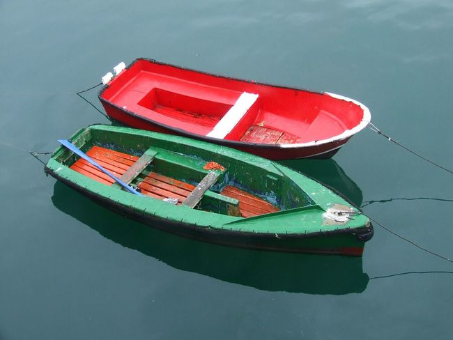 Anchored Boats Basque Coast Basque Country Boat Breakwater Cantabric Sea Cantábrico Color Palette Fishing Boat Anchore Fishing Boats Nautical Vessel Paddle Surf Paddle Surfing Red Boat Rowing Boat Ship Two Is Better Than One
